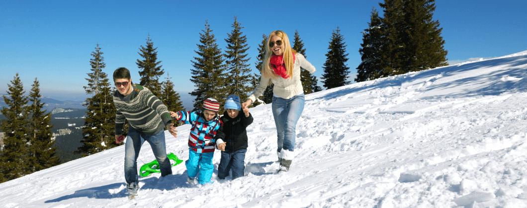 Ferie zimowe 2019 na Pogórzu Wielickim