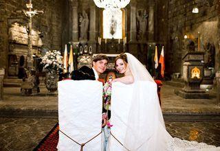Ślub w kaplicy św. Kingi